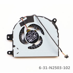 FCN DFS531005FL0T FH30 for Clevo CPU Cooling Fan 6-31-N2503-102