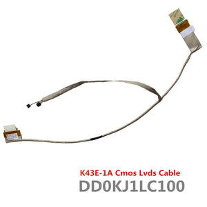 Asus X44 X44H X44HY X44HR X84h X84C X84 A83 A83S A84 A84S K84L K84 Lcd Lvds Cable