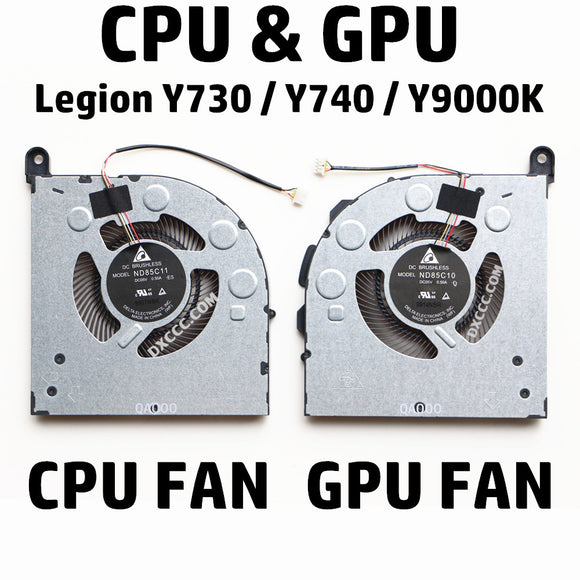 Lenovo Legion Y730 / Y740 / Y9000K CPU & GPU Cooling Fan