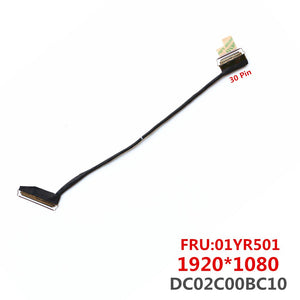 DC02C00BC10 Cable For Lenovo Thinkpad T480 A485 ET480 LCD Lvds Cable 01YR501 FHD 1920*1080