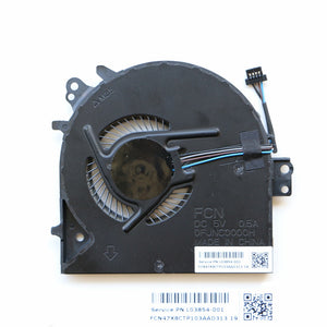 L03854-001 For HP Probook 450G5 450 G5 470 G5 Cpu Cooling Fan FCN FJNC