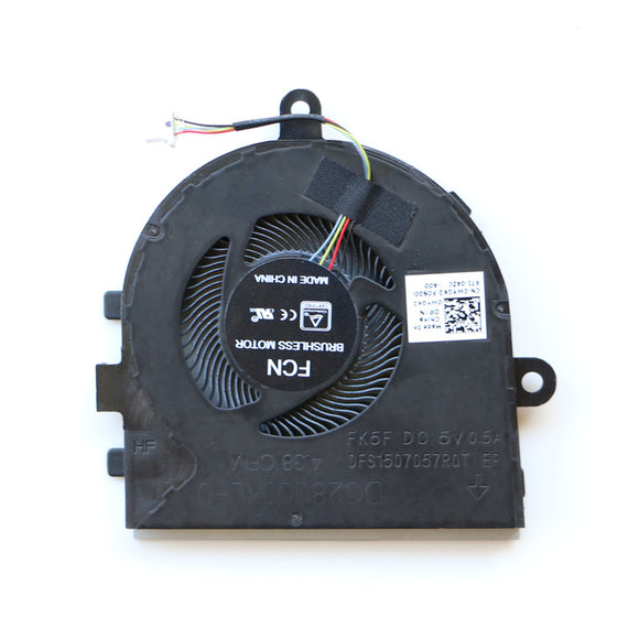 Dell Latitude 3490 E3490 CPU Cooling Fan FCN DFS1507057R0T FK5F DP/N:0WYGK2