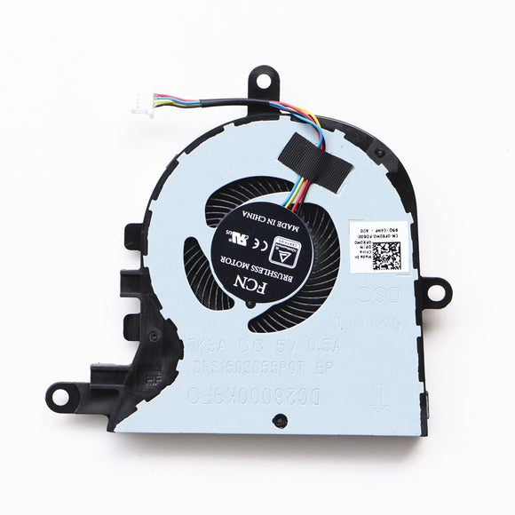 Laptop Cpu Cooling Fan For Dell Latitude 3590 E3590 Cpu Cooling Fan P75F CN-0FX0M0 FCN DFS1503055P0T FK3A DC28000K9F0