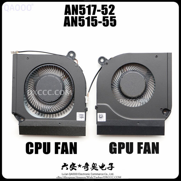 LAPTOP FAN FOR ACER Nitro 5 AN517-52 / AN515-55 CPU & GPU COOLING FAN