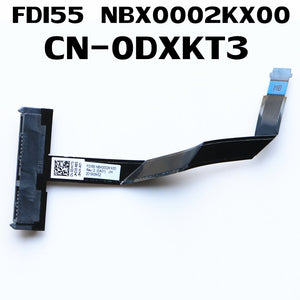 FDI55 NBX0002KX00 CN-0DXKT3 HDD CABLE FOR DELL INSPIRON 15-5593 SATA CABLE JACK HDD CABLE
