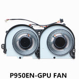 BS5205HS-U3Z For Clevo P950EN P970EX CPU COOLING FAN AND GPU COOLING FAN