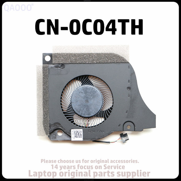 CN-0C04TH For DELL G5-5590 G7-7590 G7-7790 CPU & GPU Cooling Fan DC12V 1.0A