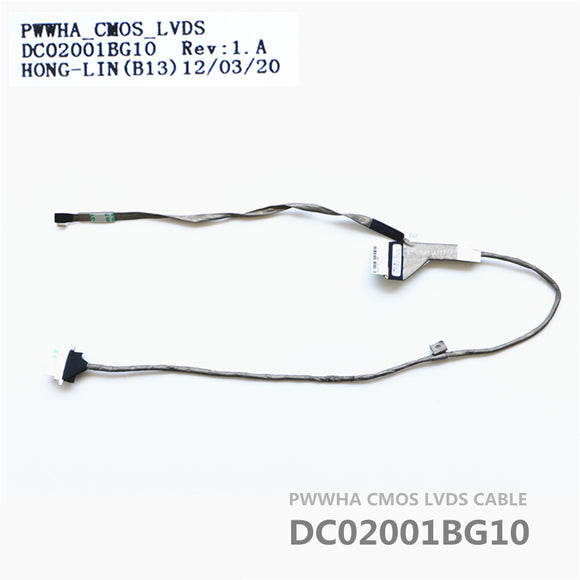 Toshiba C660 C665 Lcd Lvds Cable PWWHA DC02001BG10