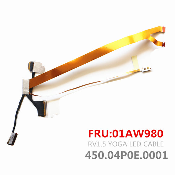 Lenovo THINKPAD Yoga X1 LCD Lvds Cable 01AW980 450.04P0E.0001