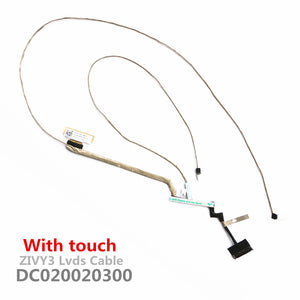 Lenovo Ideapad Y70 Y70-70 Y70-80 Lcd Lvds Cable ZIVY3 DC020020300 With Touch