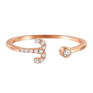 Aries Bound | Crystalised Rose Gold