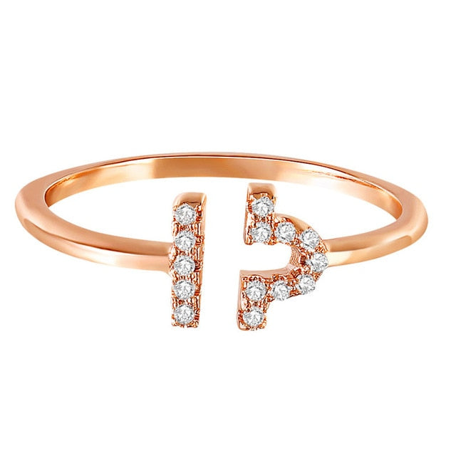 Libra Bound | Crystalised Rose Gold