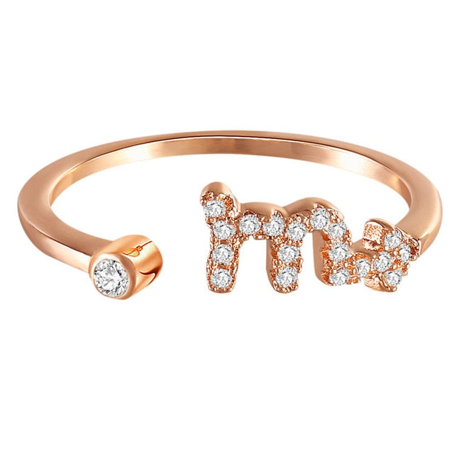 Scorpio Bound | Crystalised Rose Gold
