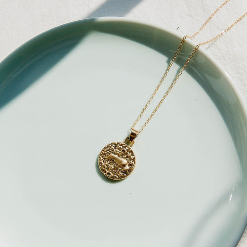 Celestial Taurus Necklace
