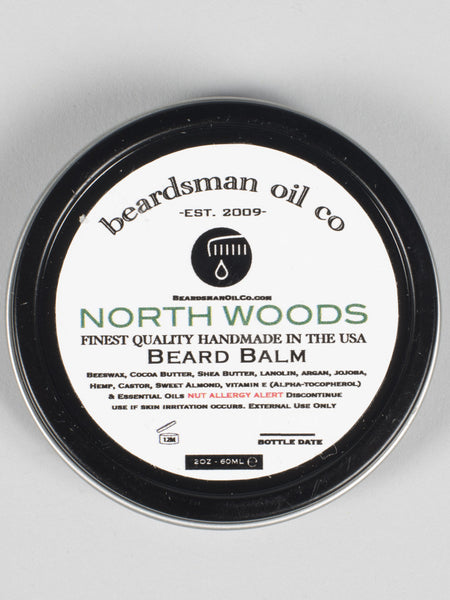 THE BEADSMAN OIL CO - BEARD BALM (NORTH WOODS)