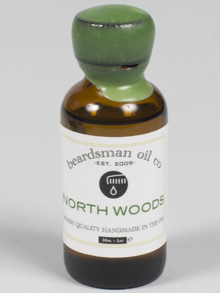 THE BEADSMAN OIL CO - BEARD OIL - GOLD LINE (NORTH WOODS)