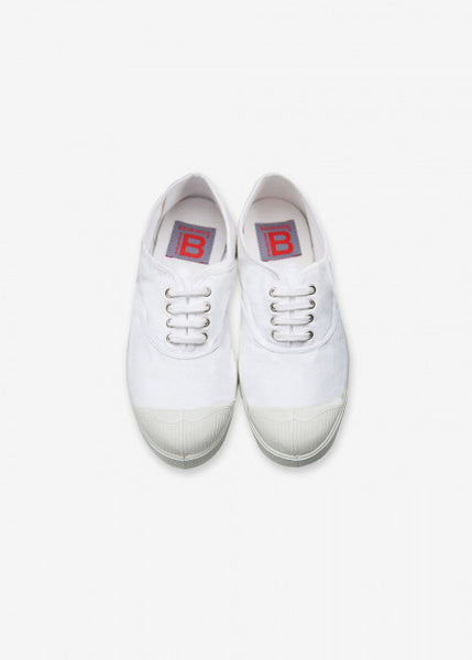 BENSIMON - ORIGINAL LACE TENNIS (WHITE)