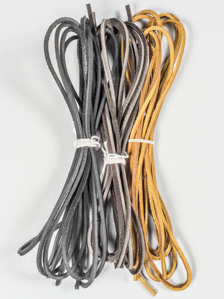 BOOTS LACES (LEATHER)