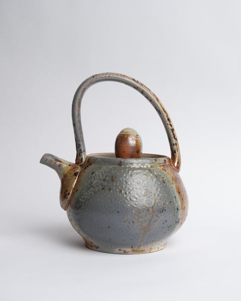 BUCKLAND CERAMICS - TEA POT (CURVED HANDLE)