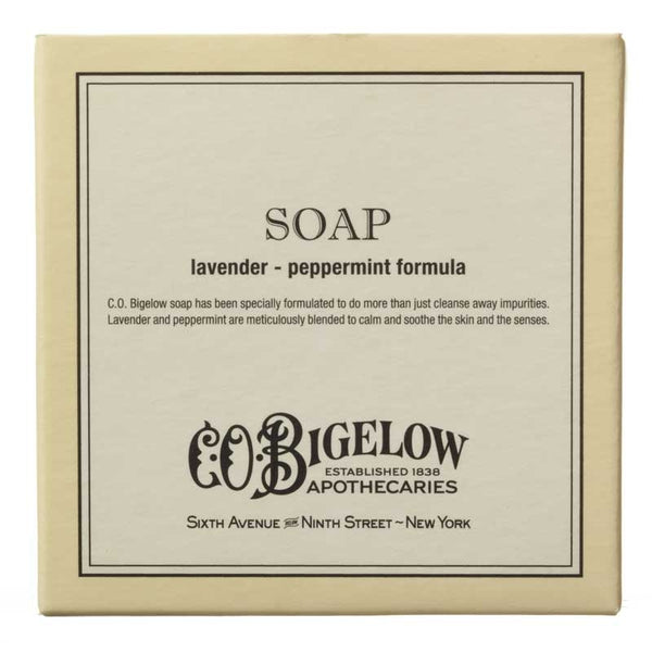 C.O. BIGELOW - LAVENDER PEPPERMINT SOAP (3.5 oz / 100g)