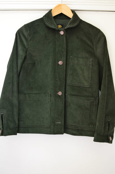SAILOR CHORE CORDUROY JACKET - GREEN