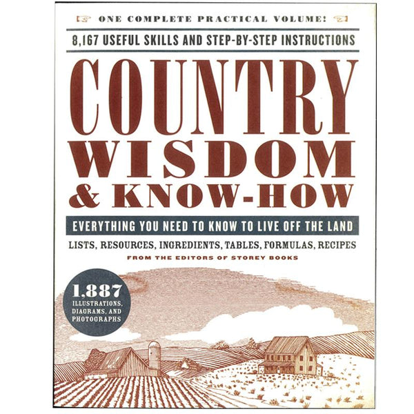 WISDOM & KNOW HOW BOOK - COUNTRY