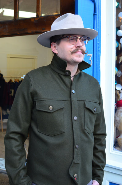 OFFICER'S DECK CPO JACKET (LODEN GREEN)