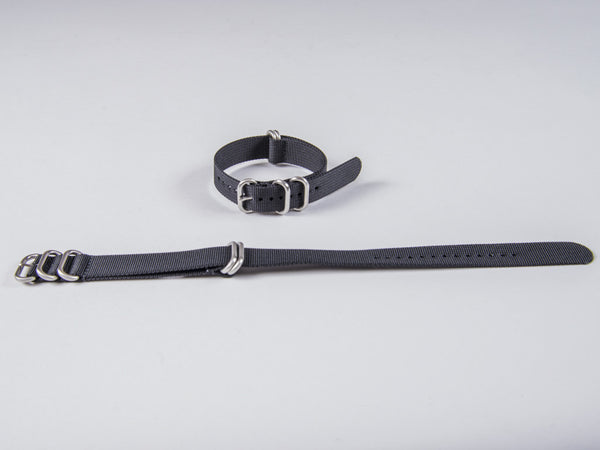 Daluca Straps - Nato Watch Strap - Black