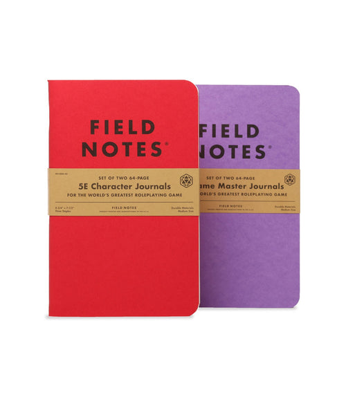 FIELD NOTES - 5E GAMING MASTERS