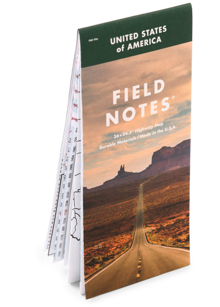 FIELD NOTES - NATIONAL HIGHWAY MAP