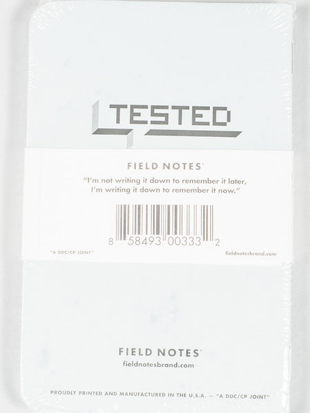 FIELD NOTES - FLIGHT LOG