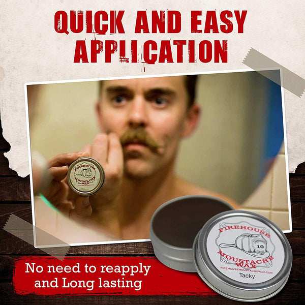 FIREHOUSE - MOUSTACHE WAX (WACKY TACKY)