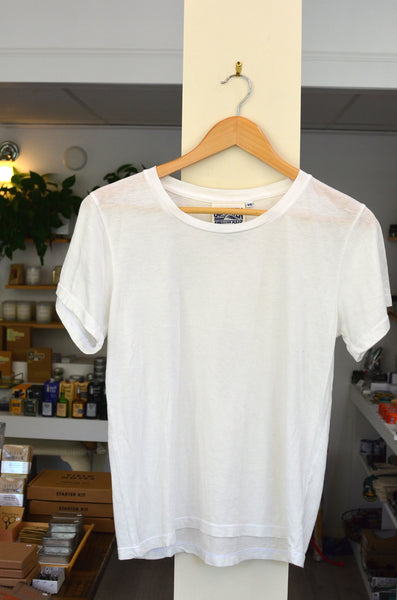 JUNGMAVEN - OJAI TEE (WASHED WHITE)