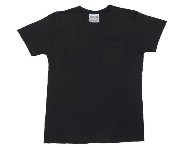 JUNGMAVEN - BAJA POCKET TEE (WASHED BLACK)