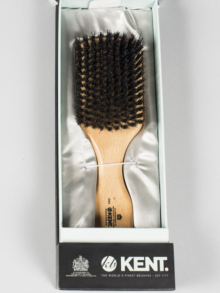 KENT - HAIRBRUSH PURE BLACK BRISTLE (OG2)