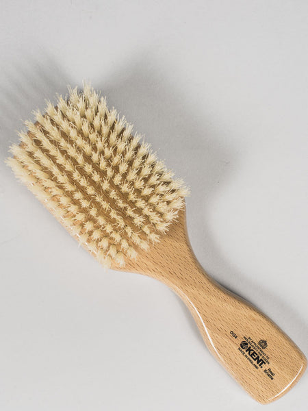 KENT - HAIRBRUSH PURE WHITE BRISTLE (OG4)