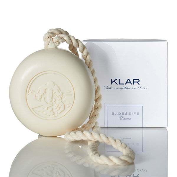 KLAR - LADIES CLEAR BATHING SOAP w/ ROPE (250G)