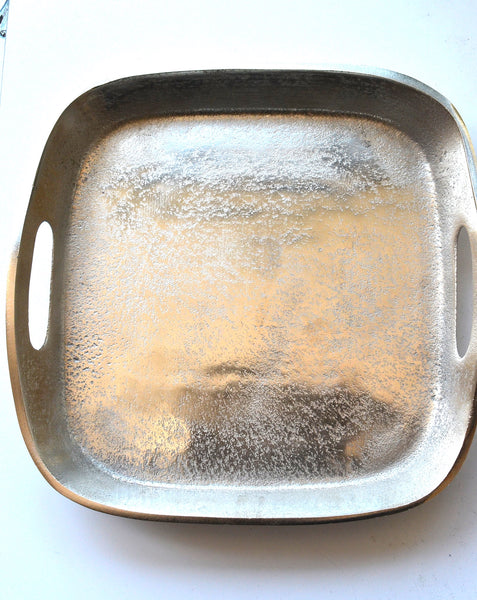 MACKENZIE SQUARE TRAY NICKEL