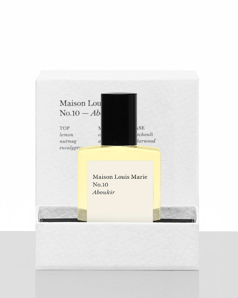 MAISON LOUIS MARIE - PERFUME OIL (NO.10 ABOUKIR)