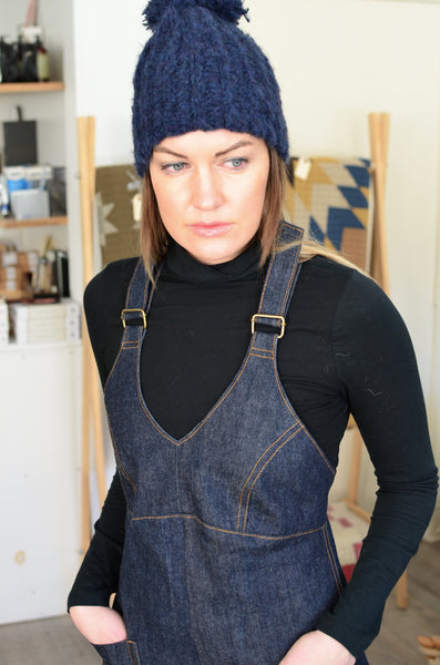 THE MARCY OVERALL JUMPSUIT (DENIM)