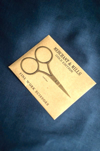 MERCHANT & MILLS - FINE WORK SCISSORS (GOLD EDITION)