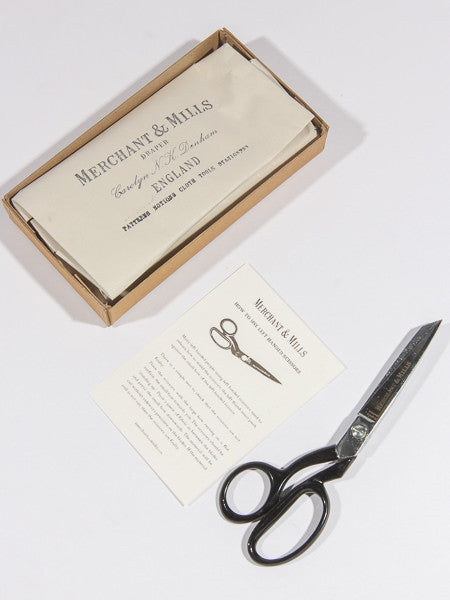 "MERCHANT & MILLS - LEFT HAND 8"" TAILOR'S SHEARS / SCISSORS"
