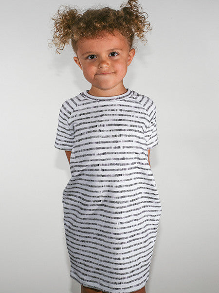 MONKIND - STRIPY T-SHIRT DRESS