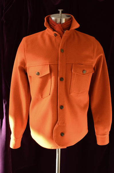OFFICER'S DECK CPO JACKET - HUNTER ORANGE
