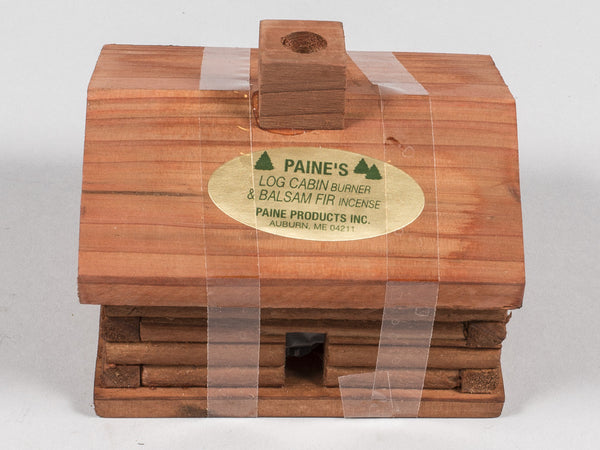 PAINE INCENSE - LOG CABIN BURNER BALSAM FIR