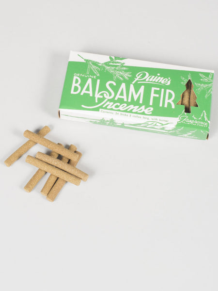 PAINE'S INCENSE - BALSAM FIR (24 STICKS / BURNER)