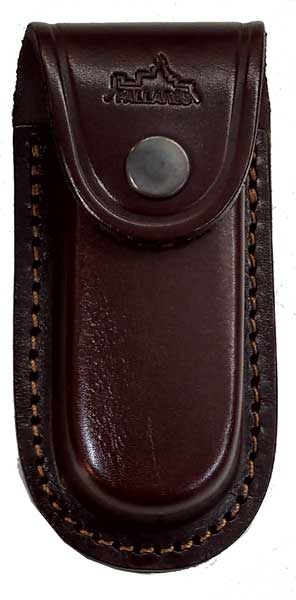 PALLARES - POCKET KNIFE RECTANGULAR LEATHER SHEATH