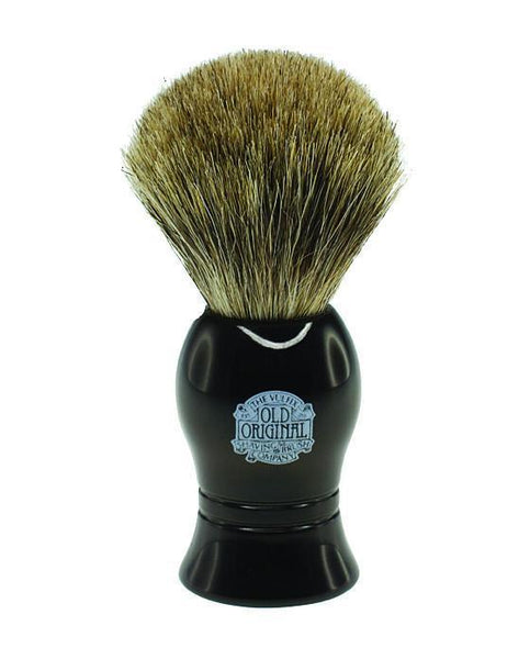 PROGRESS VULFIX - PURE BADGER HAIR SHAVING BRUSH - BLACK