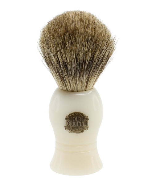 PROGRESS VULFIX - PURE BADGER HAIR SHAVING BRUSH - WHITE