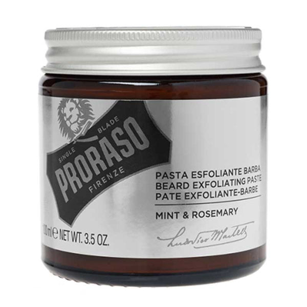 PRORASO - BEARD EXPOLIATING PASTE (3.4oz)
